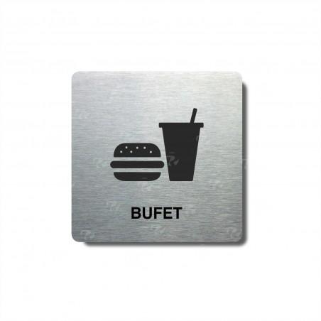 "Piktogram (80x80mm) ""Bufet II."""