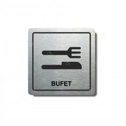 "Piktogram (80x80mm) ""Bufet I."""