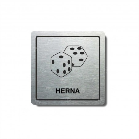 "Piktogram (80x80mm) ""Herna"""