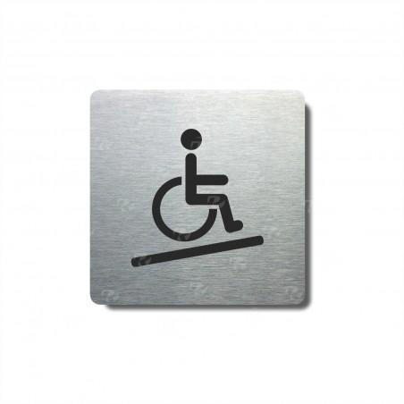 "Piktogram (80x80mm) ""Invalidé nájezd"""