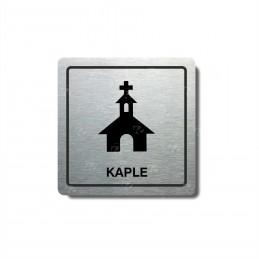 "Piktogram (80x80mm) ""Kaple"""