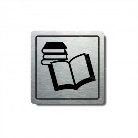 "Piktogram (80x80mm) ""Knihovna"""
