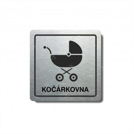"Piktogram (80x80mm) ""Kočárkovna"""