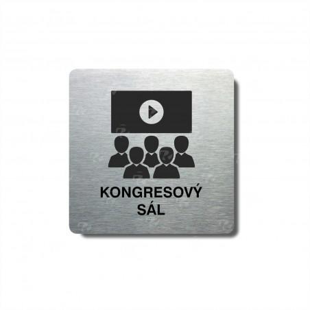 "Piktogram (80x80mm) ""Kongresový sál"""