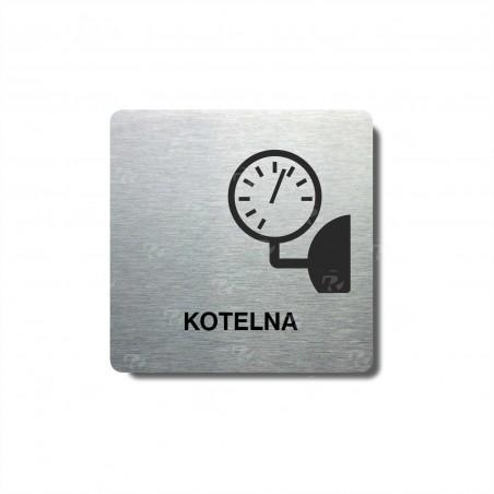 "Piktogram (80x80mm) ""Kotelna"""