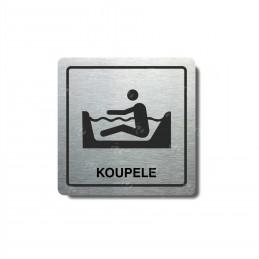 "Piktogram (80x80mm) ""Koupele"""