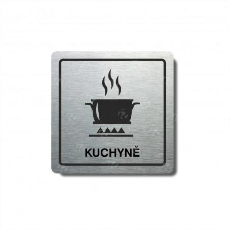 """Piktogram (80x80mm) """"Kuchyně"""""""