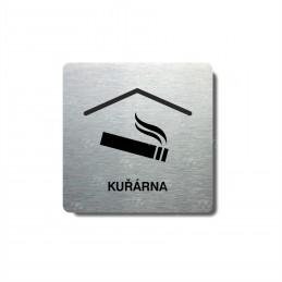 """Piktogram (80x80mm) """"Kuřárna"""""""