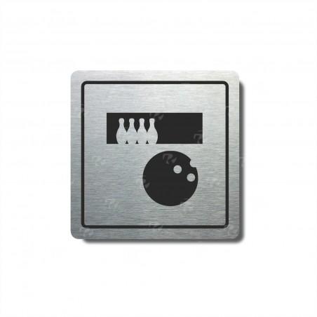 """Piktogram (80x80mm) """"Bowling"""""""