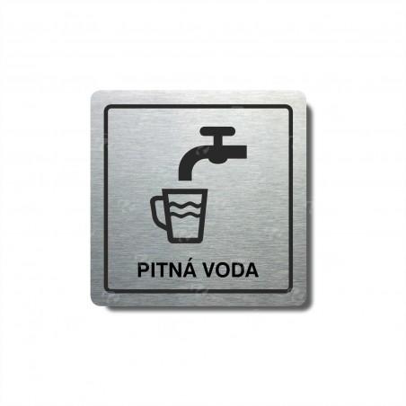 """Piktogram (80x80mm) """"Pitná voda"""""""
