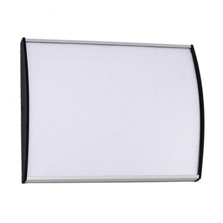 Dveřní tabulka Plato Plus 75mm (stříbrná)