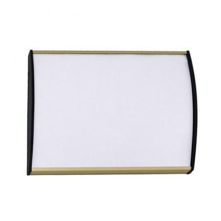 Dveřní tabulka Plato Plus 75mm (zlatá)
