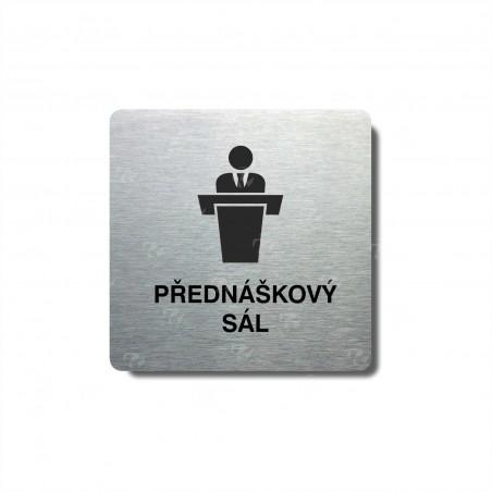 """Piktogram (80x80mm) """"Přednáškový sál"""""""